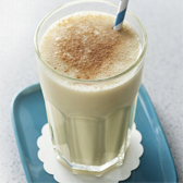 Banana Apple Custard Smoothie